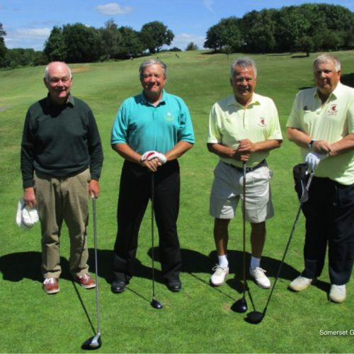 Match 6: Clive Waldron and Wally Bryson (Wiltshire) vs Jim Allan and Chris Warcup (Somerset)