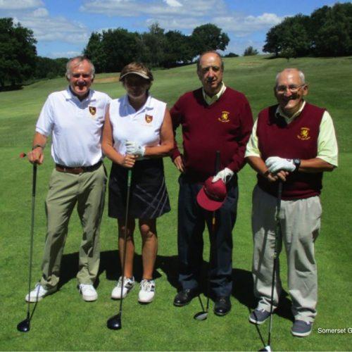 Match 11 : Tony Payne and Christine Palmer (Berkshire) vs John Beer and Paul Hucker (Somerset)