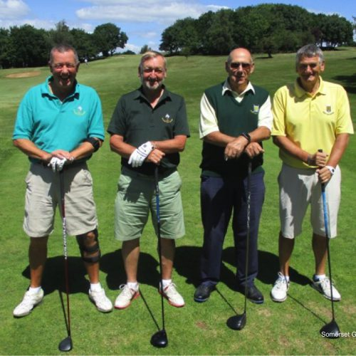 Match 12: Dick Solomon and Ian Wood (Wiltshire) vs Ron Rogers and Dave Picton (Dorset)
