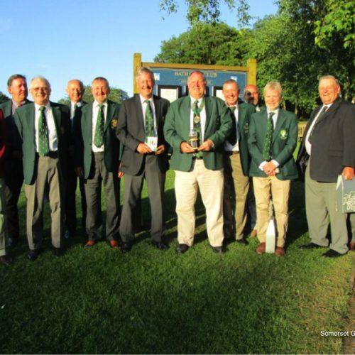 The winning team - Congratulations Wiltshire!