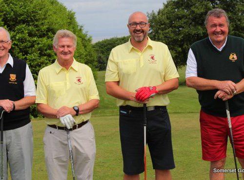 Match One. Andy Carter and Steve Taylor v David Barless and Alan Jones