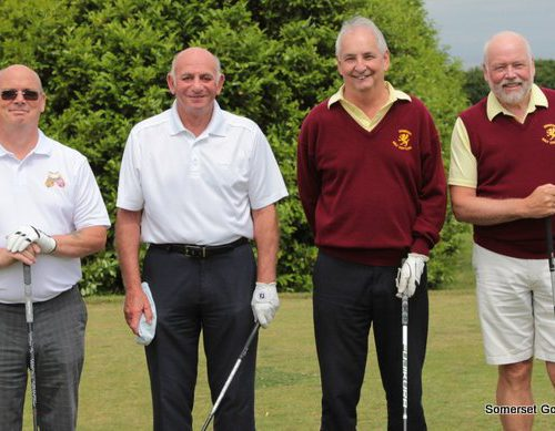 Match Two. Tim Nichols and Mike Poole v Fred Crouch and Martin Statham