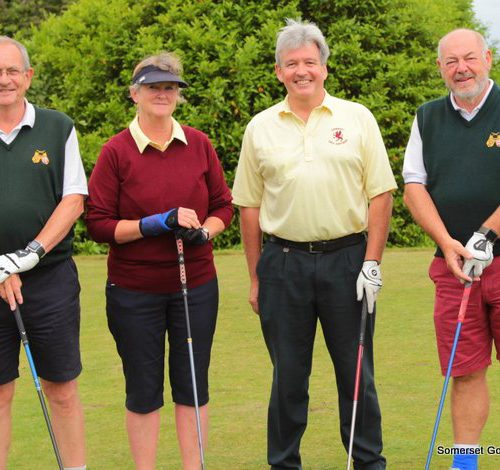 Match Three. Erica Klim and Kerry Allchurch v Jerry Dutton and Ken Hayman for H+S