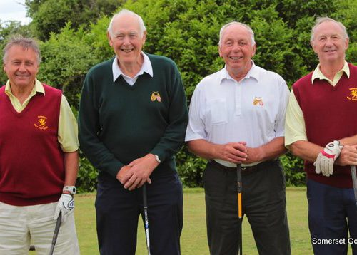 Match Six. Mike Snaith and Andy Willaims v Roger Elston and Ken Butler