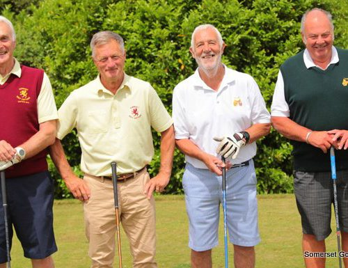 Match Eight. Mike Rossiter and Bob Acland v David Ralphs and Roy Roberts