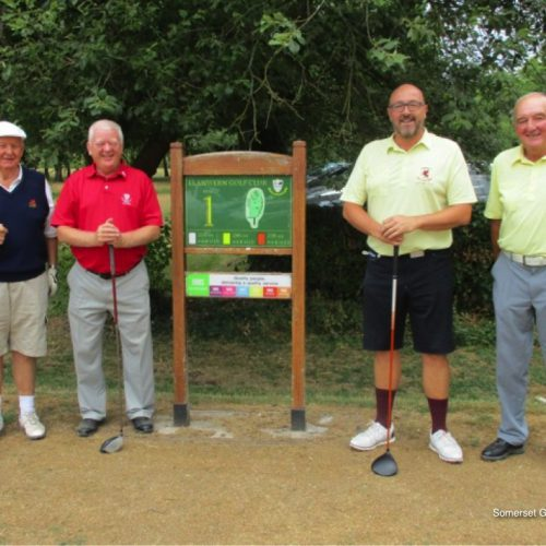 Match 1 : Andy Carter & Mark Moorfoot vs Mike Davies & Colin Wood