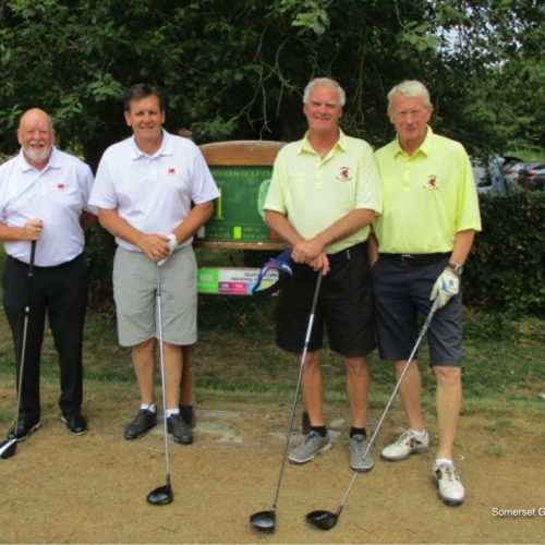 Match 3 : Ian Suttle & Malcolm Terry vs John Linton & Tony Withnall