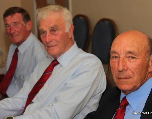 L-R Ben Gliddon, Bob Acland & David Andow