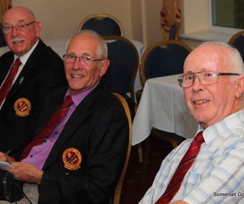 L-R Trevor Jenkins, Colin Davies & John Chillington