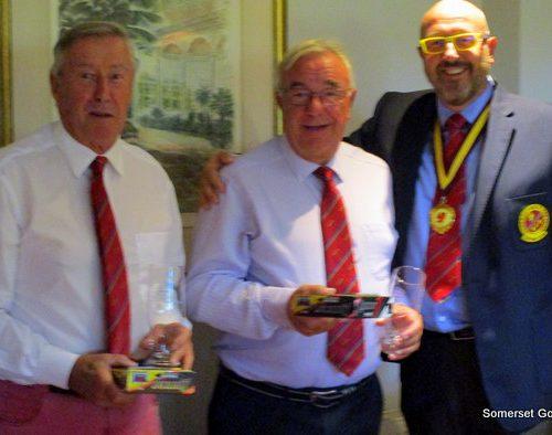 THE WINNERS from Taunton and Pickeridge - Max Putnam and Iain Robertson