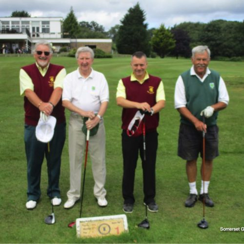 Match 3: Mike Usher-Clark & Marcus Woodward vs Ron Evans & Ray Hooper