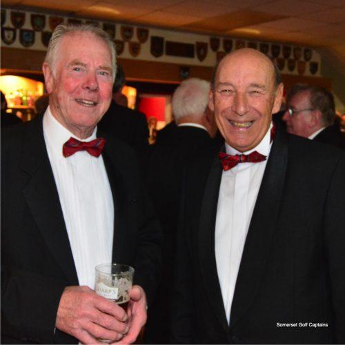 George Davis and treasurer David Andow