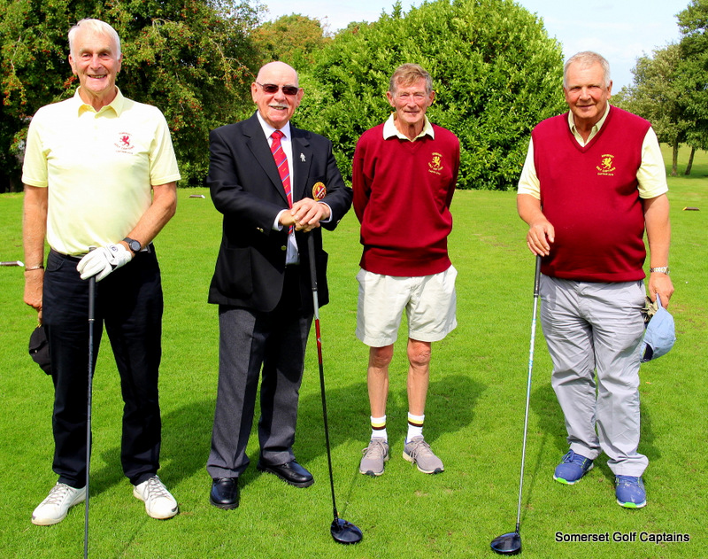 Bob Acland, Trevor Jenkins (non playing), Ben Gliddon, Chris Warcup