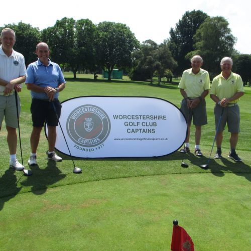 Stephen Butterfield & Mark Moorfoot with Alan Bishop & Brian Marshall