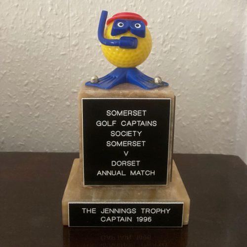 The famous Jennings Trophy!!