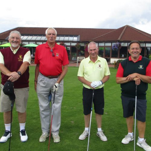 Mike Usher-Clark & Colin Mantle vs Andy Smart & David Kimberly