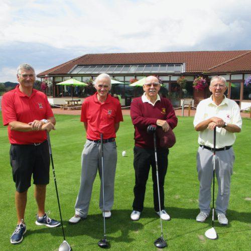 Trevor Watts & Trevor Jenkins vs Nigel Mobbs & Dave Picton